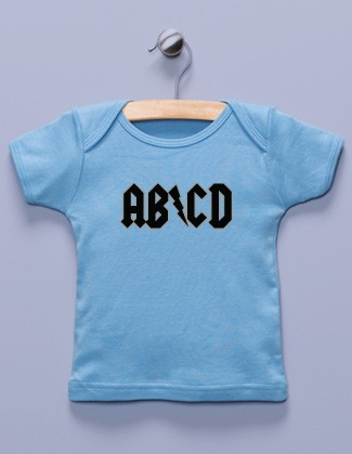 """AB/CD"" Blue Shirt"