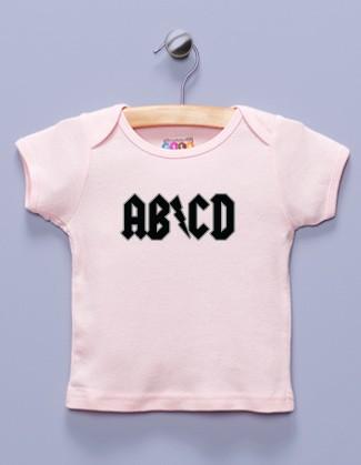 """AB/CD"" Pink Shirt / T-Shirt"