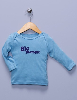 """Big Brother"" Blue Long Sleeve Shirt"