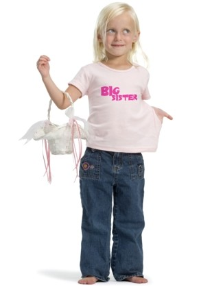 Big Sister t-shirt - Uncommonly Cute