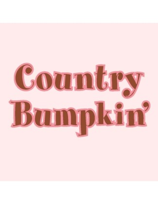 Country Bumpkin' design