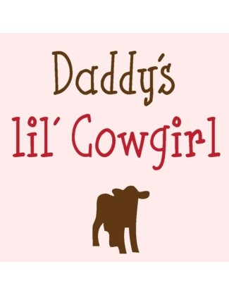 Daddy's lil' Cowgirl - Uncommonly Cute