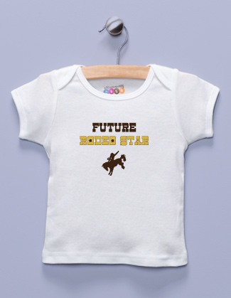 """Future Rodeo Star"" White Shirt"