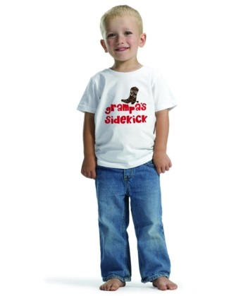 Grampa's Sidekick - Short Sleeve T-shirt