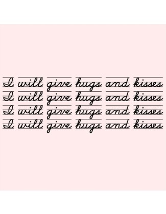 I will give hugs and kisses - Uncommonly Cute