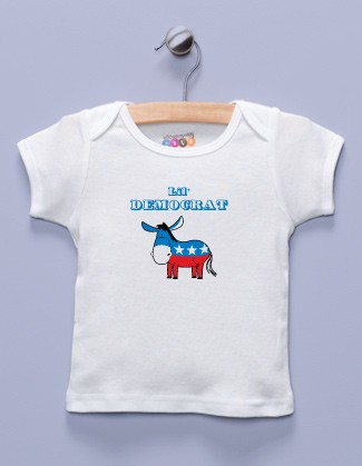 """Lil' Democrat"" White Shirt / T-Shirt"