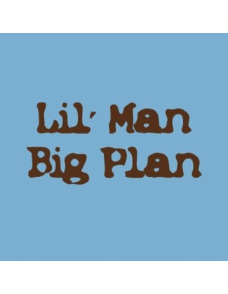 Lil' Man, Big Plan - Uncommonly Cute