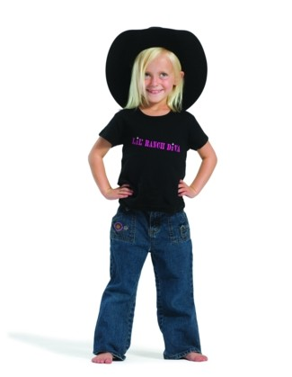 Lil' Ranch Diva - Short Sleeve T-shirt
