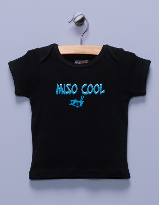 """Miso Cool"" Black Shirt"