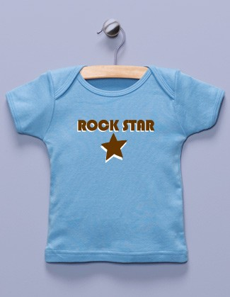 """Rock Star"" Blue Shirt"