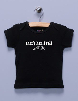 """That's How I Roll"" Black Shirt"