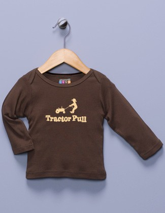 """Tractor Pull"" Long Sleeve Shirt"