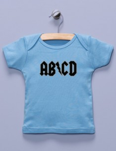 &quot;AB/CD&quot; Blue Shirt