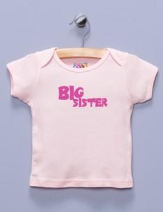 """Big Sister"" Pink Shirt"