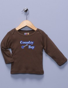 """Country Boy"" Long Sleeve Shirt"