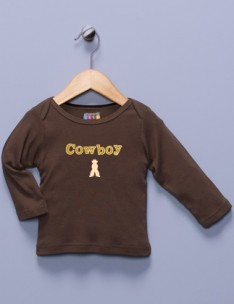 &quot;Cowboy&quot; Brown Shirt