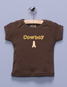 """Cowboy"" Brown Shirt"