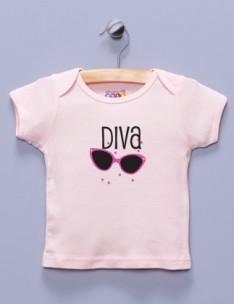 """""""Diva"""" Pink Shirt / T-Shirt"""
