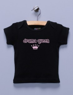 """Drama Queen"" Black Shirt / T-Shirt"