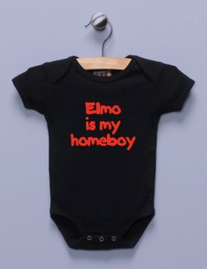 &quot;Elmo is My Homeboy&quot; Infant Bodysuit