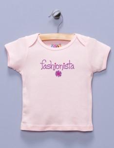 """Fashionista"" Pink Shirt / T-Shirt"