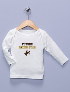 &quot;Future Rodeo Star&quot; White Long Sleeve Shirt
