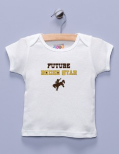 &quot;Future Rodeo Star&quot; White Shirt