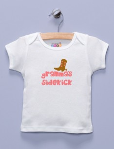 &quot;Gramma's Sidekick&quot; White Shirt / T-Shirt