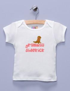 """""""Gramma's Sidekick"""" White Shirt / T-Shirt"""