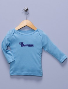 &quot;Lil' Brother&quot; Blue Long Sleeve Shirt