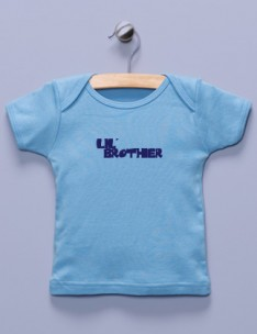 &quot;Lil' Brother&quot; Blue Shirt