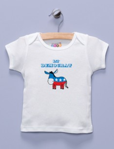 &quot;Lil' Democrat&quot; White Shirt / T-Shirt