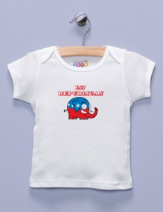 """Lil' Republican"" White Shirt / T-Shirt"