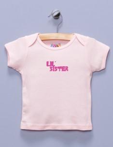 """Lil' Sister"" Pink Shirt / T-Shirt"