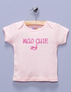 """""""Miso Cute"""" Pink Shirt / T-Shirt"""