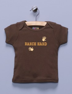 &quot;Ranch Hand&quot; Brown Shirt