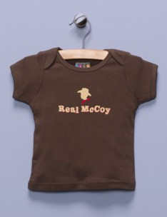 &quot;Real McCoy&quot; Brown Shirt