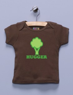 &quot;Tree Hugger&quot; Brown Shirt / T-Shirt