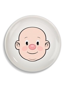 Plate - MR FOOD FACE Plate